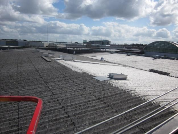 ASBESTOS ROOF CLEANING